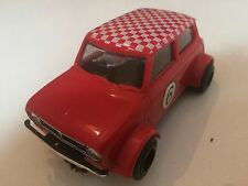 MINI 1975 GT VINTAGE OLD SCALEXTRIC MODEL TOY SLOT RACING CAR  ZT