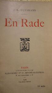 Huysmans-En-Rade-Plon-1925