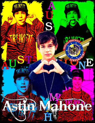 "Astin Mahone /"" Rock Star /"" Personalized T-shirts"