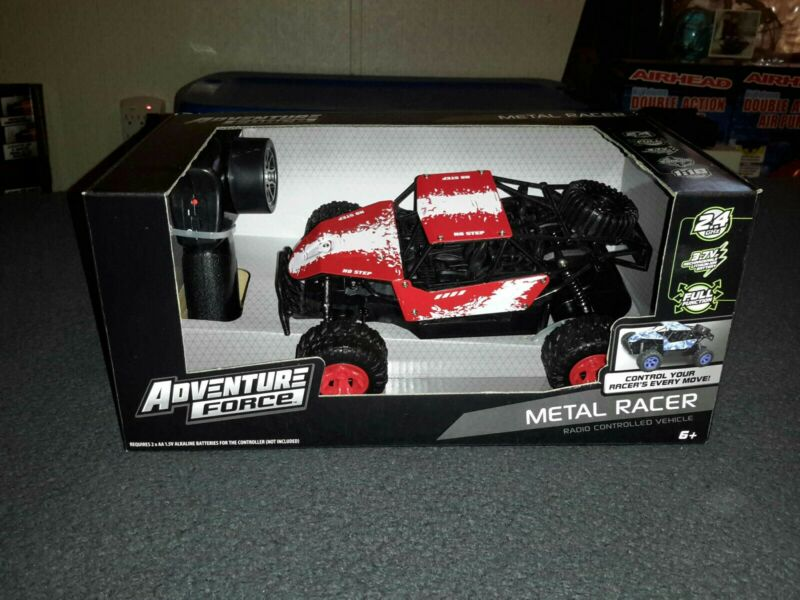 Adventure Force Metal Racer Radio Controlled Vehicle - Red