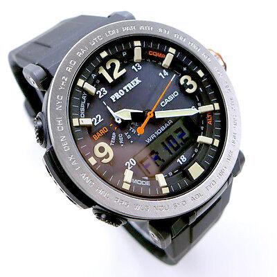 Casio Protrek Triple Sensor Ver.3 Tough Solar Men's Watch PRG 600 1 | eBay