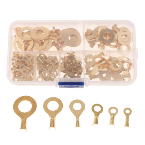 150 Pieces Insulated Electrical Wire Terminals Crimp Connectors Spade Set