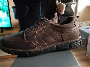 Details zu Gallus Herren Schuhe, Halbschuhe, Neu mit Karton, Gr.46, Farbe braun, Leder