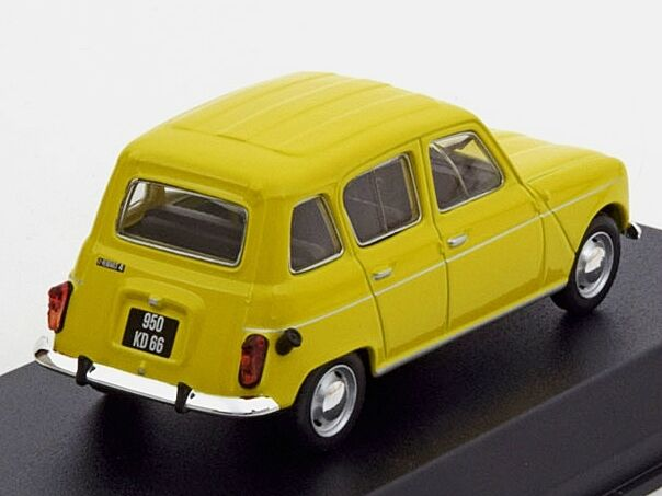 Renault 4 Yellow yellow 1974   1 43  510048  Norev