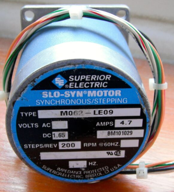 new superior electric slosyn stepper motor  m063le505