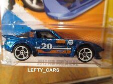 Hot Wheels DARK BLUE MAZDA RX-7(#20)-2012 HW PREMIERE ON LONG CARD