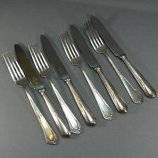 WMF 400 Röschenmuster - Vorspeisebesteck - 8 Teilig - 4 Personen - 90er Silber