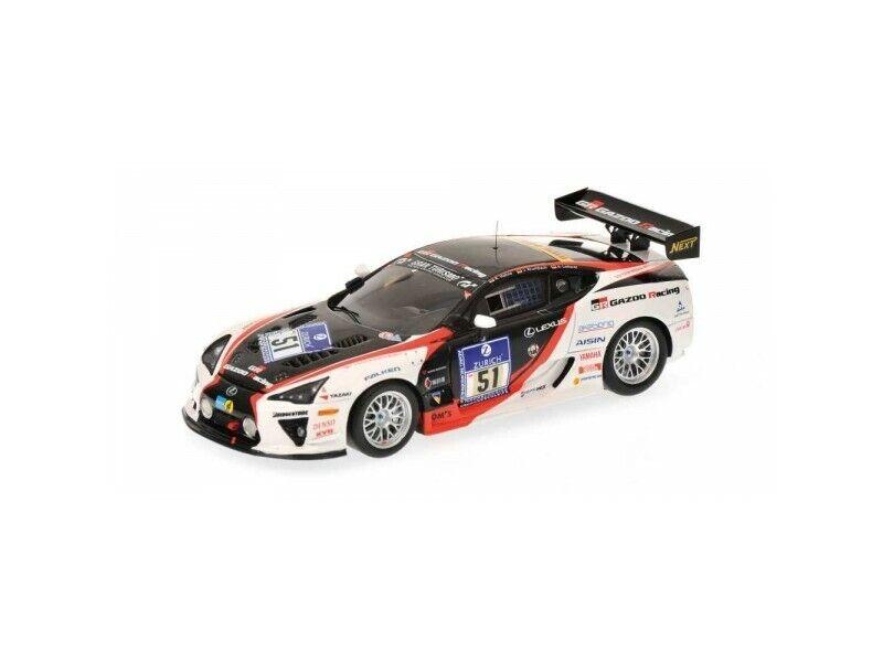 promocionales de incentivo MINICHAMPS 1 1 1 43 LEXUS LFA GAZOO RACING N.51 24H NURBURGRING 2010 MODELLINO  ventas en linea