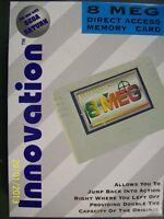 Sega Saturn Game Convertor 8 Meg Memory Card Innovation Adaptor Back Up Ram