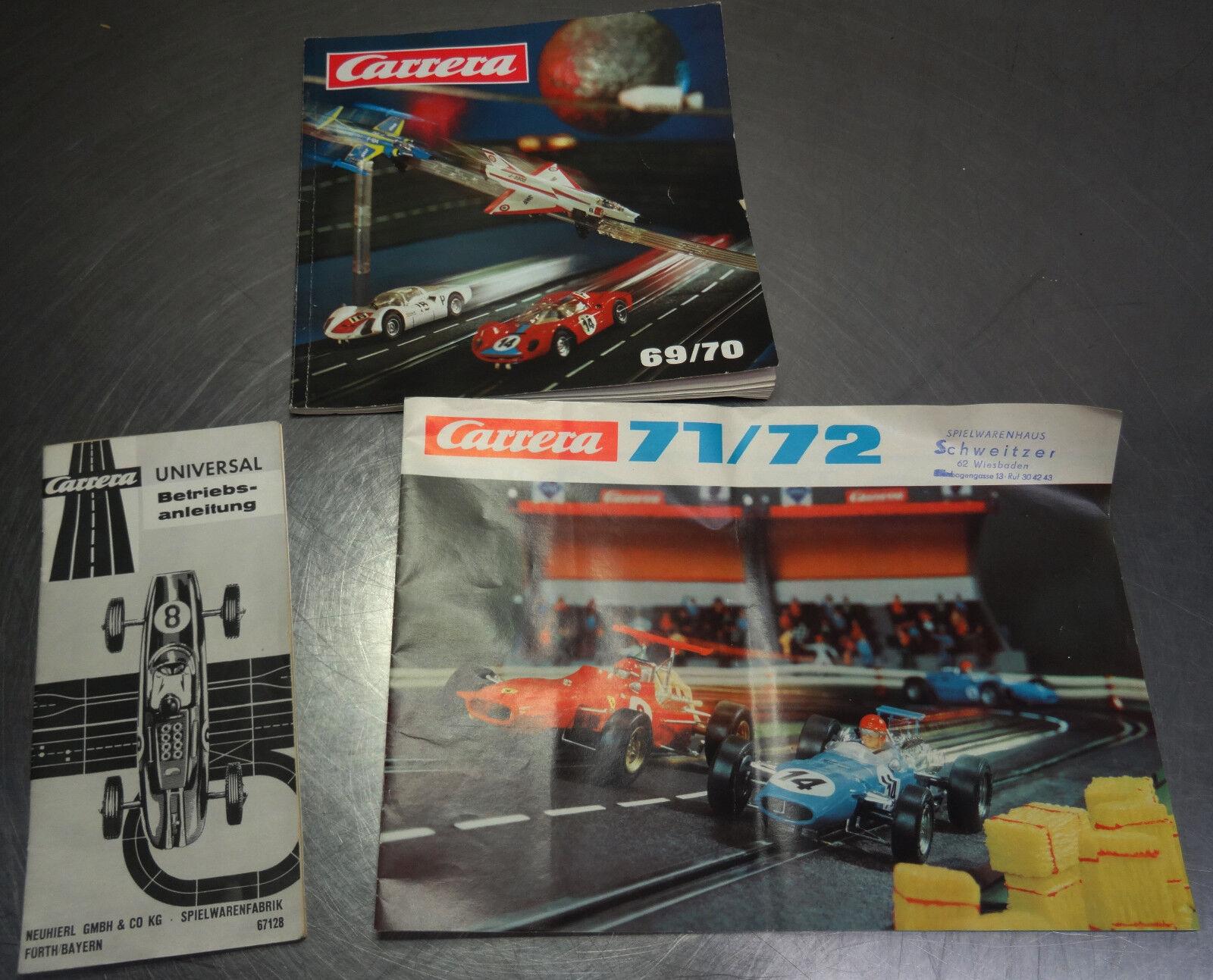 Ältere Spielzeug Spielzeug Spielzeug Kataloge Carrera Katalog 60 70 und 71 72    Zürich  ed801c