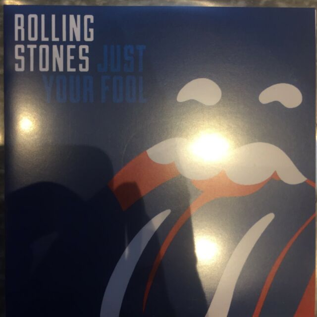 Rolling Stones - Just Your Fool - Rare Uk Cd Promo + Press Sticker
