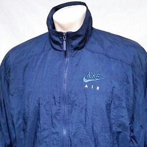 4a667c68e9 VTG Nike Air Windbreaker Jacket Spell Out 90s Jordan Lined Coat ...