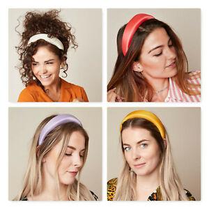 Samt Gepolstertes Haarreif Haarband Stirnband Haarreifen Haarbänder Kopfband