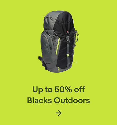 Up to 50% Blacks Outdoors