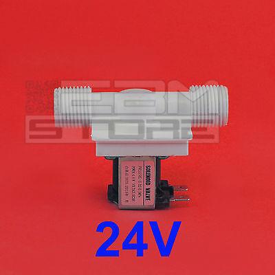Elettrovalvola 24V per liquidi acqua acquario idroponica arduino - ART. CN14