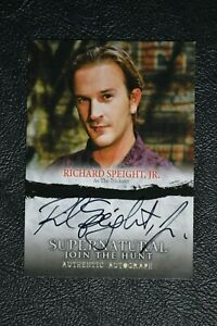 Supernatural-Seasons-1-3-A08-Richard-Speight-Jr-Autograph-Auto-Trading-Card