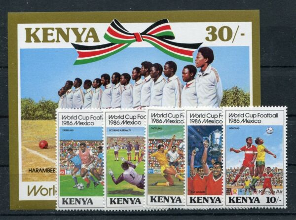 Style De Mode Kenya 360/64 Bloc 28 Cachet/football... 1/1230-.................1/1230