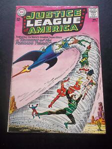 JUSTICE-LEAGUE-OF-AMERICA-17-DC-Comics-1963-Silver-Age-VG-F-5-0