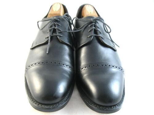 "Allen Edmonds ""BOULEVARD"" Oxfords 9 E Black  (232)"