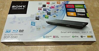 Sony BDP-S590 3D Blu-Ray Disc DVD Player Wifi Internet NETFLIX/HULU