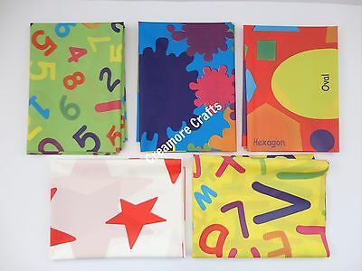No Mess Kids Large Plastic Painting Floor Table Cover
