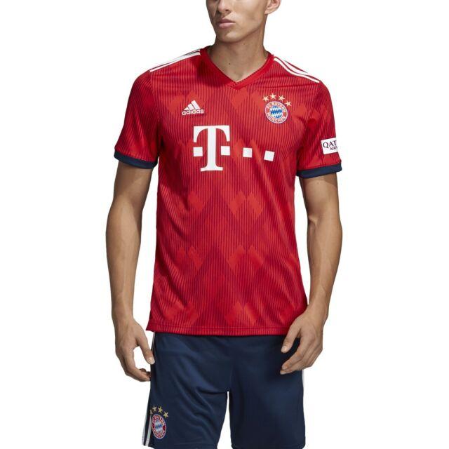 FC Bayern MUNCHEN adidas 2018-19 Home Soccer Jersey Shirt Small ...