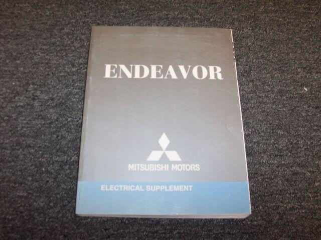 2008 Mitsubishi Endeavor Suv Electrical Wiring Diagram