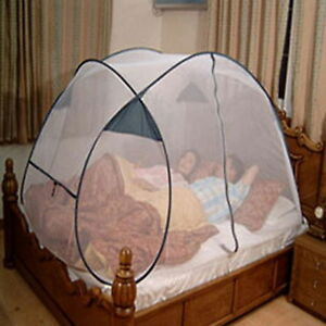 Image is loading 4-5-Person-Automatic-White-Portable-Folding-Mosquito- & 4-5 Person Automatic White Portable Folding Mosquito Net Insect ...