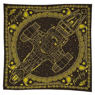 Firefly TV Serenity Exclusive Licensed 100% Cotton FIREFLY Print BANDANA Scarf