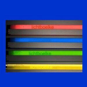 Farbige Schwarzlicht Leuchtstoffrohre Leuchtstofflampe 15w 58w