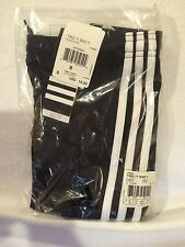 Youth Small Adidas Tiro 11 Shorts  - Black/White - Brand New With Tags