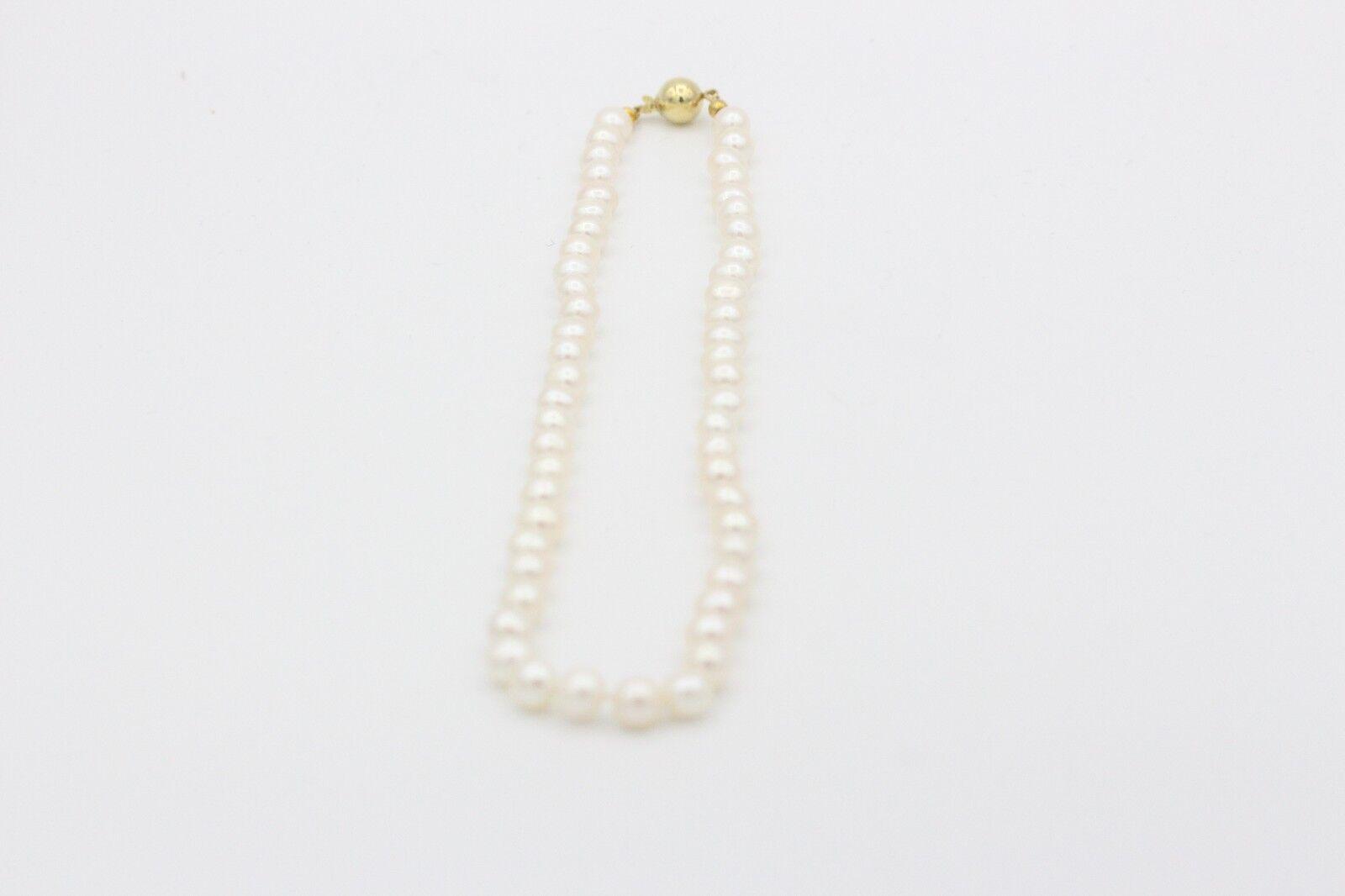 Perlenkette mit einer 585er yellowgoldschließe (c0518139)