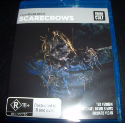 1 of 1 - Scarecrows (Film By William Wesley)(Australia Region B) Bluray New (Not Sealed)