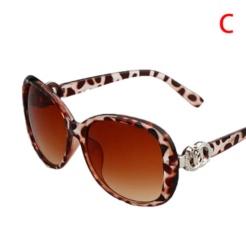 Women Vintage Oversized Sunglasses UV400 Huge Shades Retro Round EyewearHC