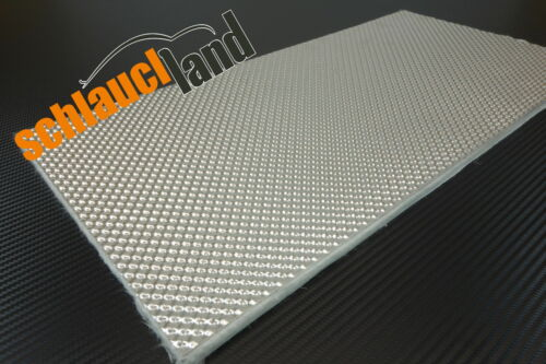0,5m x 0,25m Alu-Keramik Hitzeschutzmatte ULTRA selbstklebend*** Turbo Aus