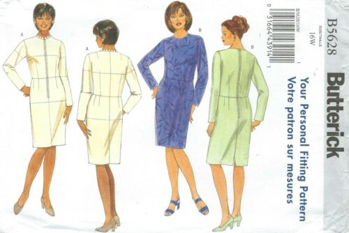 Butterick 5628 Women/'s Fitting Shell and Dress   Sewing Pattern