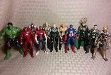"3.75"" Marvel Universe Avengers Lot Captain America Thor Hawkeye Iron Man Movie P"