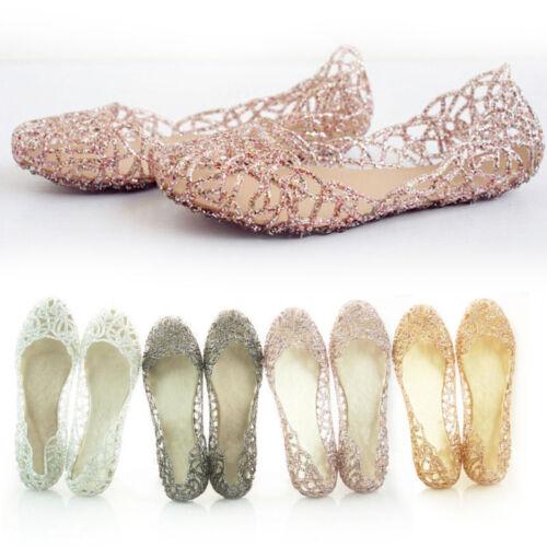 Damenschuhe Ballerinas Sandals Freizeit Glitzern Sneakers Flach Pumps Gr,36-40