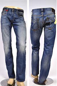 Otra-Vez-Da-Replay-Jeans-MA955-Newbill-606-308-Azul-Medio-Confort-Fit-Nuevo