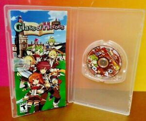 Class-of-Heroes-RPG-Atlus-Rare-Sony-PSP-Game-Playstation-Portable-Tested