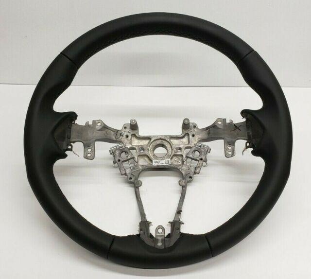 2019 19 OEM Honda Acura RDX Black Leather Steering Wheel