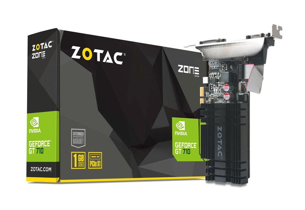ZOTAC GeForce® GT 710 1GB PCIE x 1 Graphics Card