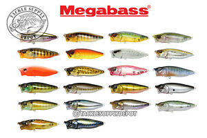 Megabass-Pop-Max-Popper-Chugger-Topwater-3-75in-1-2oz-Pick