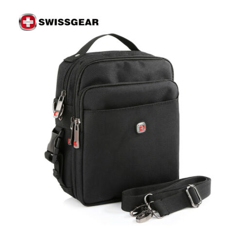 SwissGear Men/'s Tablet Messenger Shoulder Bag Handbag CrossBody Waist bag Pack