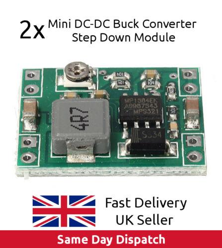 UK SELLER FAST 2x MP1584 Mini DC-DC Buck Converter Step Down Module like LM2596