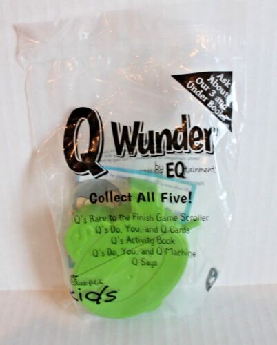 Chick-fil-A Q Wunder Q/'s Race to the Finish Game Scroller Kid/'s Meal Toy SEALED