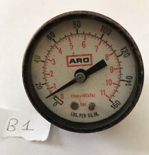 Vintage Aro Pressure Gauge Meter Steampunk B1
