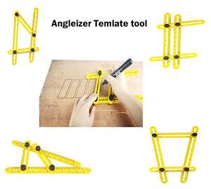 image is loading angle izer multi angle ruler 836 template angleizer