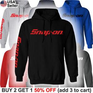 Snap-On-Tools-Hooded-Sweatshirt-Mechanic-Racing-Auto-Part-Sweater-Shirt-Hoodie