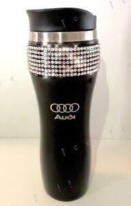 Line W Car Crystals Mug Swarovski Audi Black 14oz Details About Stainless S Travel Tumbler f6mYbIv7gy